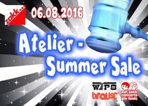 atelier - summer sale front klein